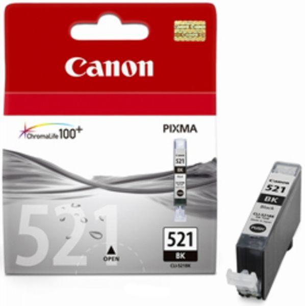 Canon Tintenpatrone CLI-521BK schwarz