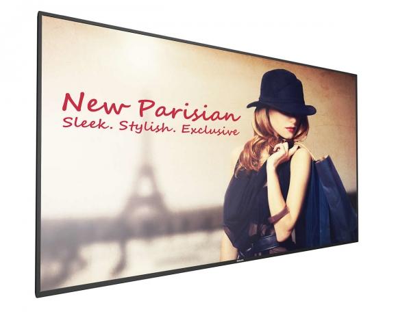 Philips 55BDL4150D/00 Signage-Display 138,8 cm (54.6 Zoll) 4K Ultra HD Digital Beschilderung Flachbildschirm Schwarz Android 7.1.2