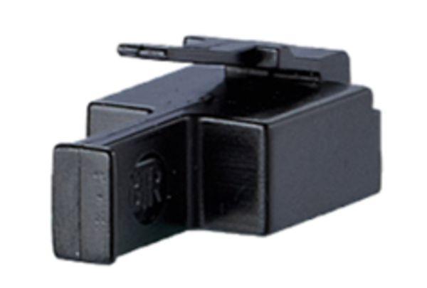 Staubschutzstecker für RJ45-Buchse, schwarz