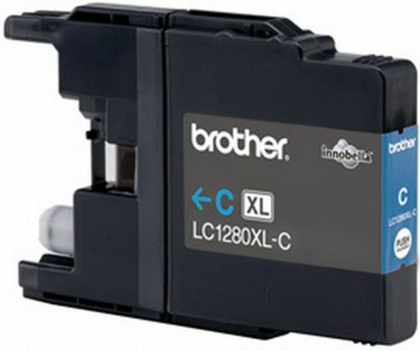Brother Tintenpatrone LC-1280XLC Cyan (ca. 1200 Seiten)