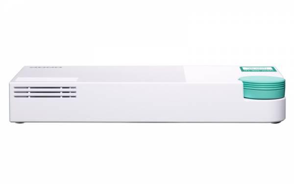 QNAP QSW-308-1C Netzwerk-Switch Unmanaged Gigabit Ethernet (10/100/1000) Weiß