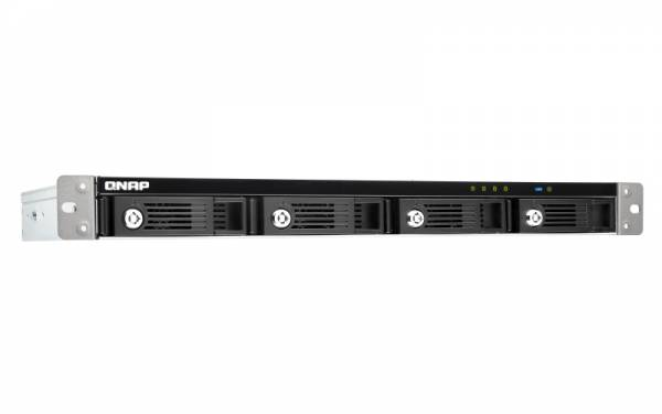 QNAP TR-004U Disk-Array Schwarz, Grau