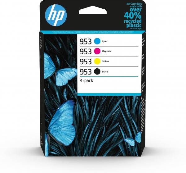 HP Tintenpatrone Nr. 953 Multipack -BK/C/M/Y- -ca.1.000/700S.-
