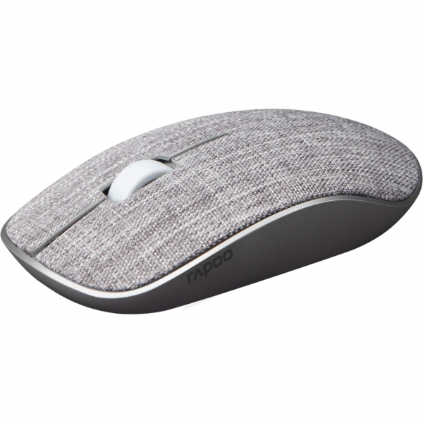 Rapoo M200+ Grau Kabellose Multi-Mode-Maus Textil