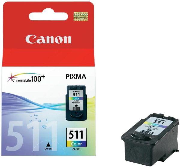 Canon Tintenpatrone CL-511 Farbe (C/M/Y) (ca. 244 Seiten)