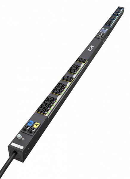 Eaton EMAB04 Stromverteilereinheit (PDU) 0U Schwarz 24 AC-Ausgänge