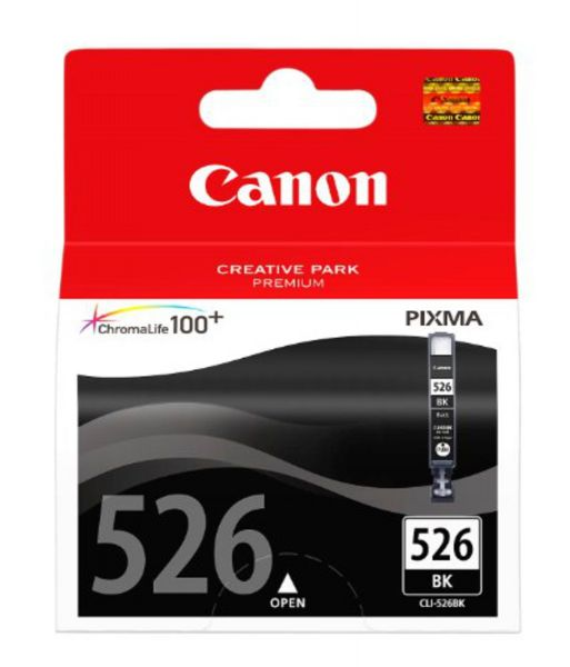Canon Tintenpatrone CLI-526BK Foto schwarz