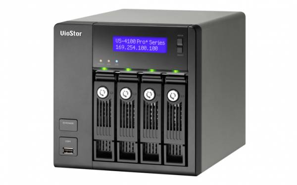 QNAP VS-4108 Pro+ Eingebauter Ethernet-Anschluss Tower Schwarz