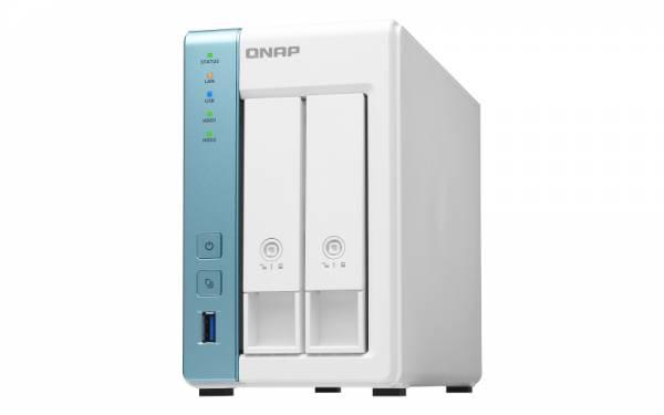 QNAP TS-231K NAS & Speicherserver Alpine AL-214 Eingebauter Ethernet-Anschluss Tower Weiß