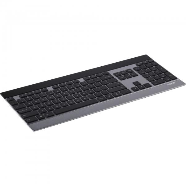 Rapoo E9270 Silber Kabellose Metall-Tastatur