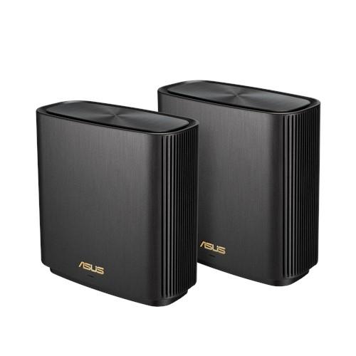 ASUS ZenWiFi AX (XT8) WLAN-Router Gigabit Ethernet Tri-Band (2,4 GHz / 5 GHz / 5 GHz) Schwarz