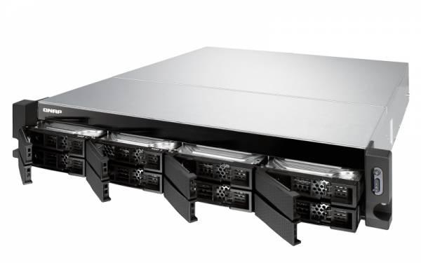 QNAP TS-883XU-RP E-2124 Eingebauter Ethernet-Anschluss Rack (2U) Schwarz NAS