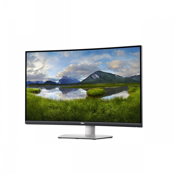 DELL S Series S3221QS 81,3 cm (32 Zoll) 3840 x 2160 Pixel 4K Ultra HD LCD Schwarz, Grau