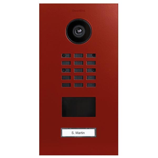 DoorBird D2101V IP Video Türstation, Edelstahl, RAL 2002