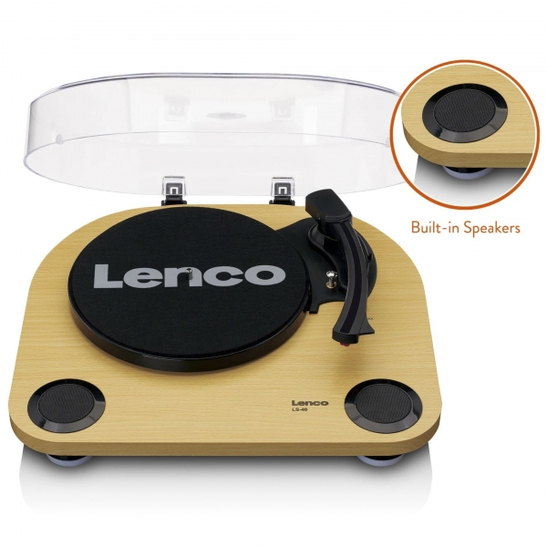 Lenco LS-40 braun