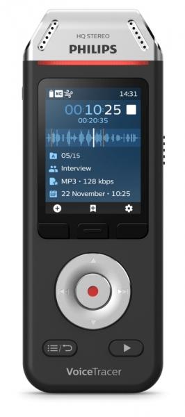 Philips Voice Recorder DVT 2810 inkl. Spracherkennungssoftware