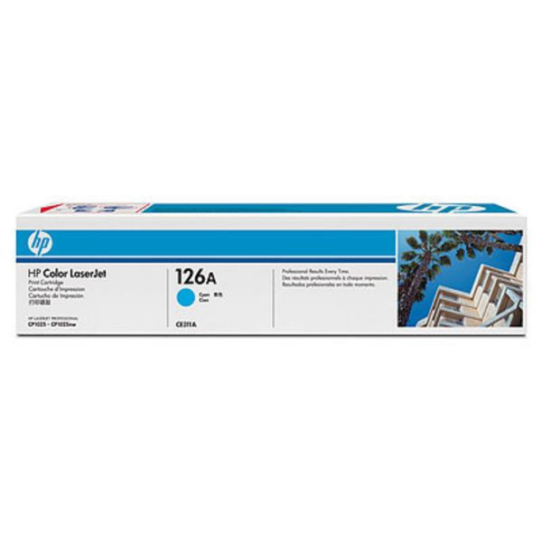 HP Toner CE311A Cyan (ca. 1000 Seiten) HP126A