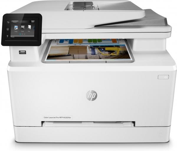 HP Color LaserJet Pro M283fdn -MFP- 4in1 Multifunktionsdrucker