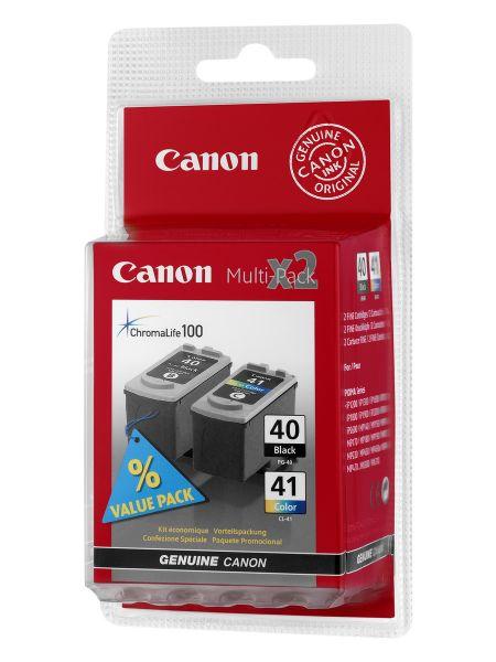 Canon Tintenpatronen PG-40/CL-41 Multipack (BK/C/M/Y)