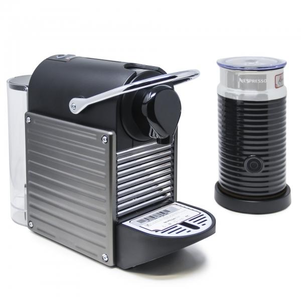 Krups XN 305 T Nespresso Pixie & Aeroccino 3 Titan