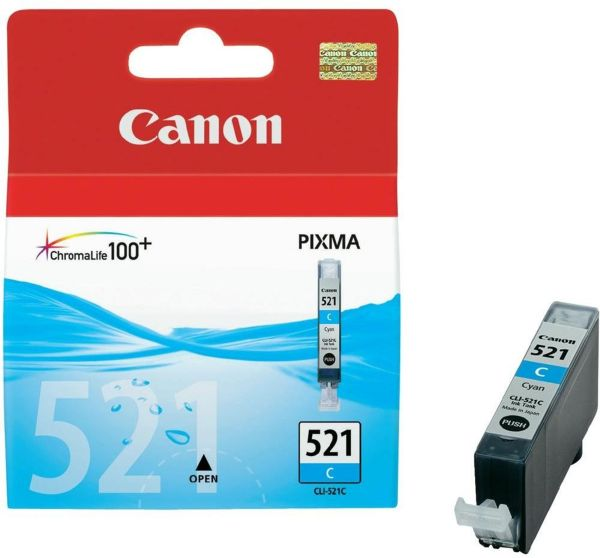 Canon Tintenpatrone CLI-521C cyan