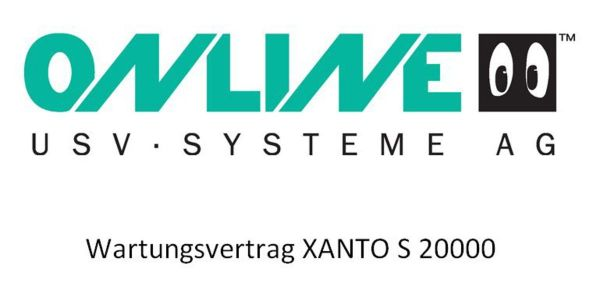 Online USV - Inspektionsvertrag XANTO S 20.000