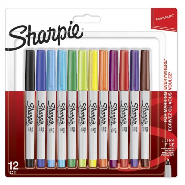 1x12 Sharpie Permanentmarker UF 12 Farben