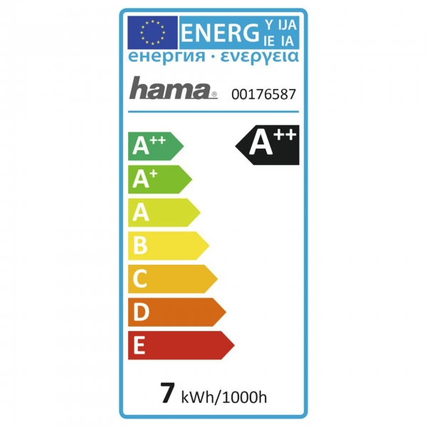 Hama WLAN-LED-Lampe, Retro, E27 7W, ohne Hub
