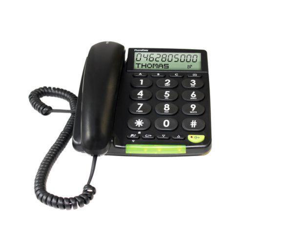 doro Großtastentelefon PhoneEasy 312cs schwarz