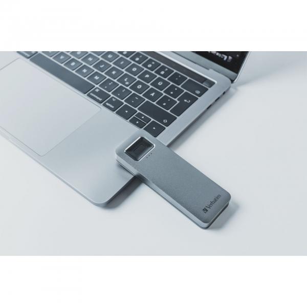 Verbatim Fingerprint Secure SSD USB 3.2 Gen 1 USB-C 2,5 1TB