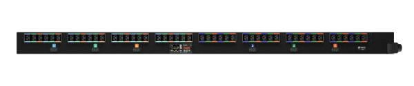 Vertiv UI30028 Stromverteilereinheit (PDU) 0U Schwarz 48 AC-Ausgänge