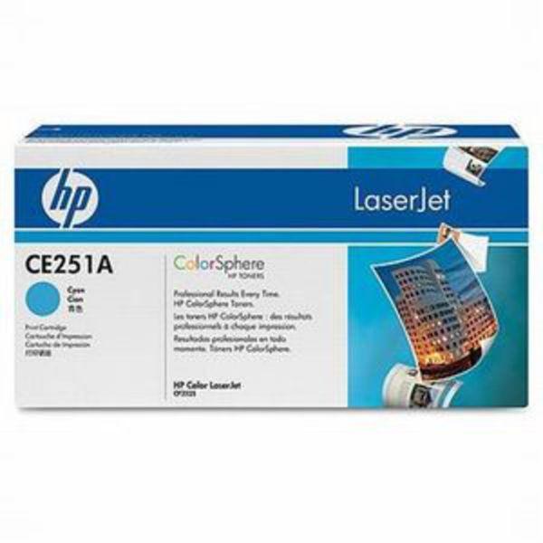 HP Toner 504A Cyan (ca. 7000 Seiten)