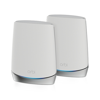 Netgear RBK752 Orbi WiFi 6 Tri-Band Mesh System AX4200 2-Set