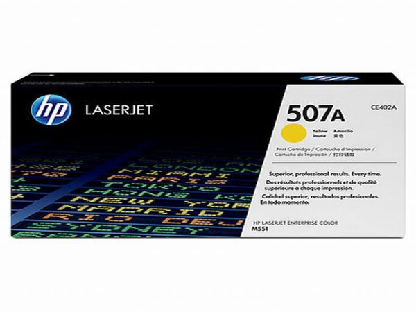 HP Toner 507A CE402A Gelb (ca. 6.000 Seiten)