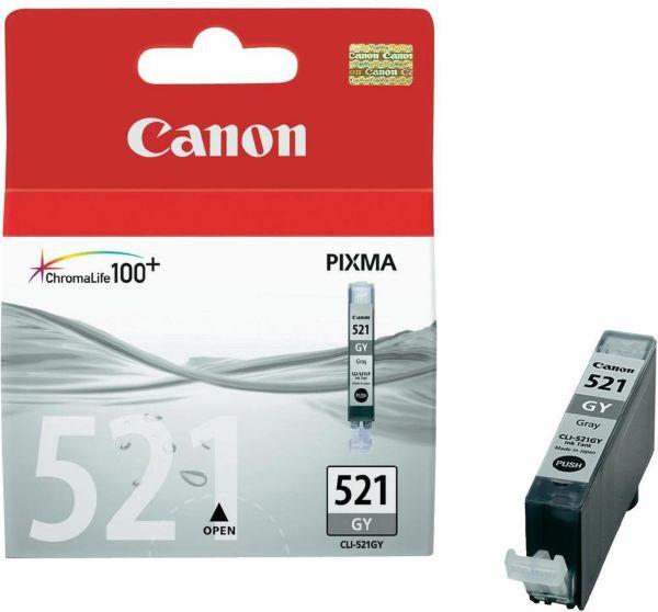 Canon Tintenpatrone CLI-521GY grau