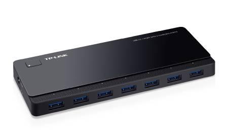 TP-LINK UH720 USB 3.2 Gen 1 (3.1 Gen 1) Micro-B 5000 Mbit/s Schwarz