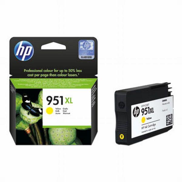HP Tintenpatrone Nr. 951XL CN048AE Gelb (ca. 1500 Seiten)