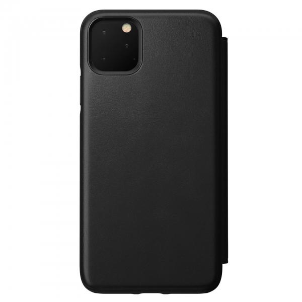 Nomad Folio Leather Rugged Black iPhone 11 Pro Max