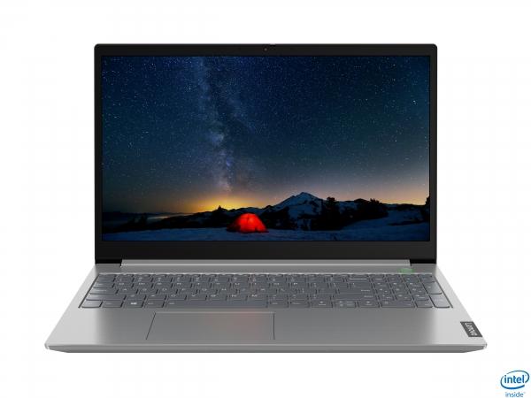Lenovo ThinkBook 15 DDR4-SDRAM Notebook 39,6 cm (15.6 Zoll) 1920 x 1080 Pixel Intel® Core™ i3 Prozessoren der 10. Generation 8 GB 256 GB SSD Wi-Fi 6 (802.11ax) Windows 10 Pro Grau