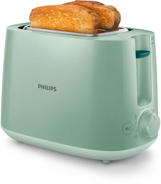 Philips Daily Collection HD2581/60 Toaster 2 Scheibe(n) 900 W Grün