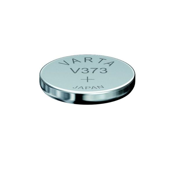 VARTA Knopfzellenbatterie Electronics V373 (SR68) Silber