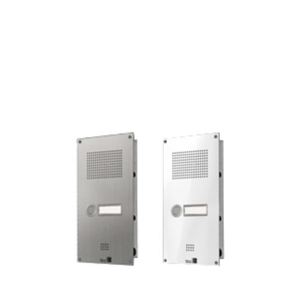 Behnke 5-0050 Serie 5 Unterputz-Set mit 1-Ruftaste (Weiß)