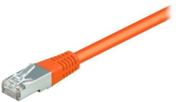 equip CU Patchkabel S/FTP 2xRJ45 Cat.6 250MHz orange 7,5m