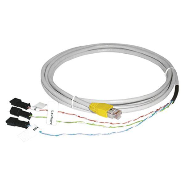 Behnke 20-9309 Anschlußkabel f. 1 T 1 LP 1-Mikr.RJ45-Stecker