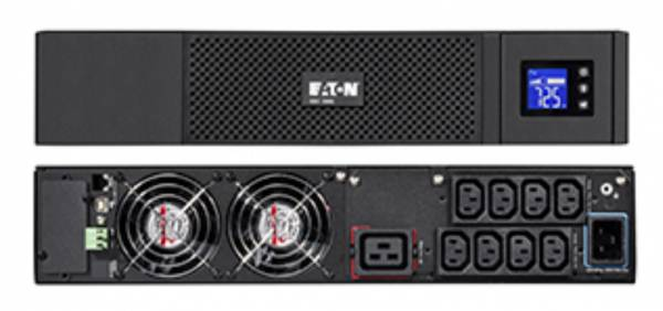 Eaton 5SC 3000I RT2U Unterbrechungsfreie Stromversorgung (UPS) Line-Interaktiv 3000 VA 2700 W 9 AC-Ausgänge