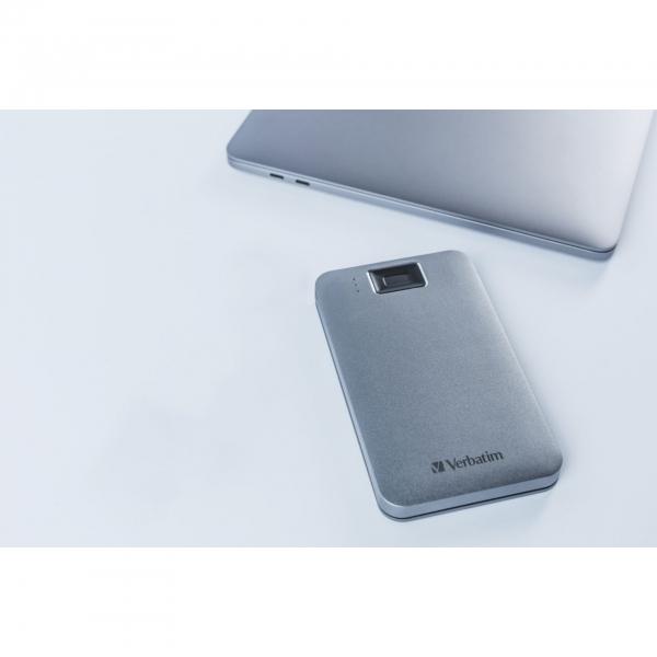 Verbatim Fingerprint Secure 2TB USB 3.2 Gen 1 USB-C 2,5