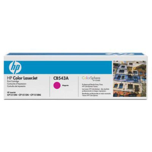 HP Toner CB543A Magenta (ca. 1400 Seiten)