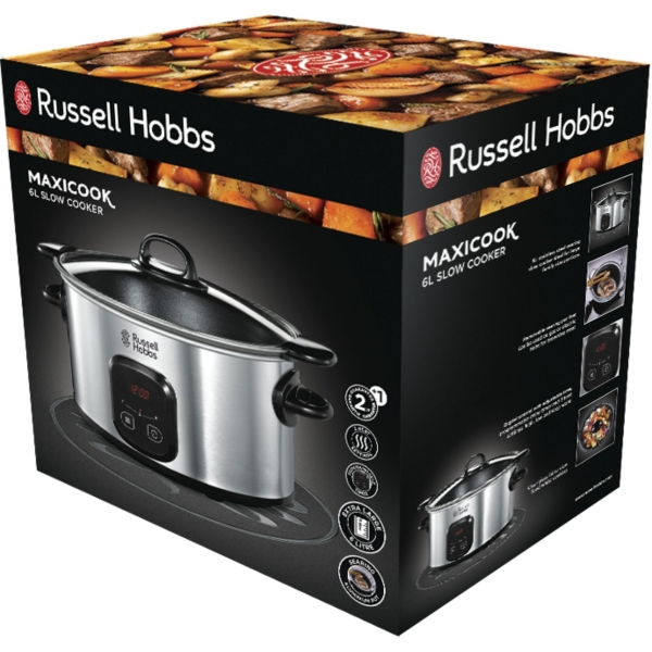 Russell Hobbs 22750-56 MaxiCook Digitaler Schongarer