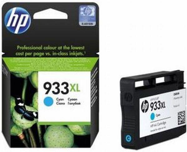 HP Tintenpatrone Nr. 933XL CN054A Cyan (ca. 825 Seiten)