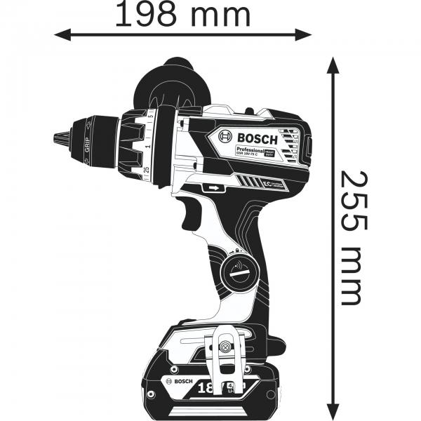Bosch GSR 18V-110 C Professional Akku-Bohrschrauber